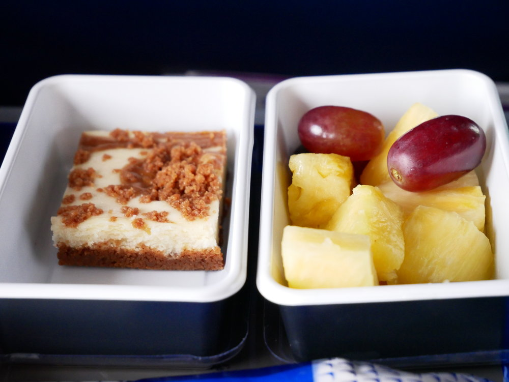 United premium transcontinental Economy side dishes