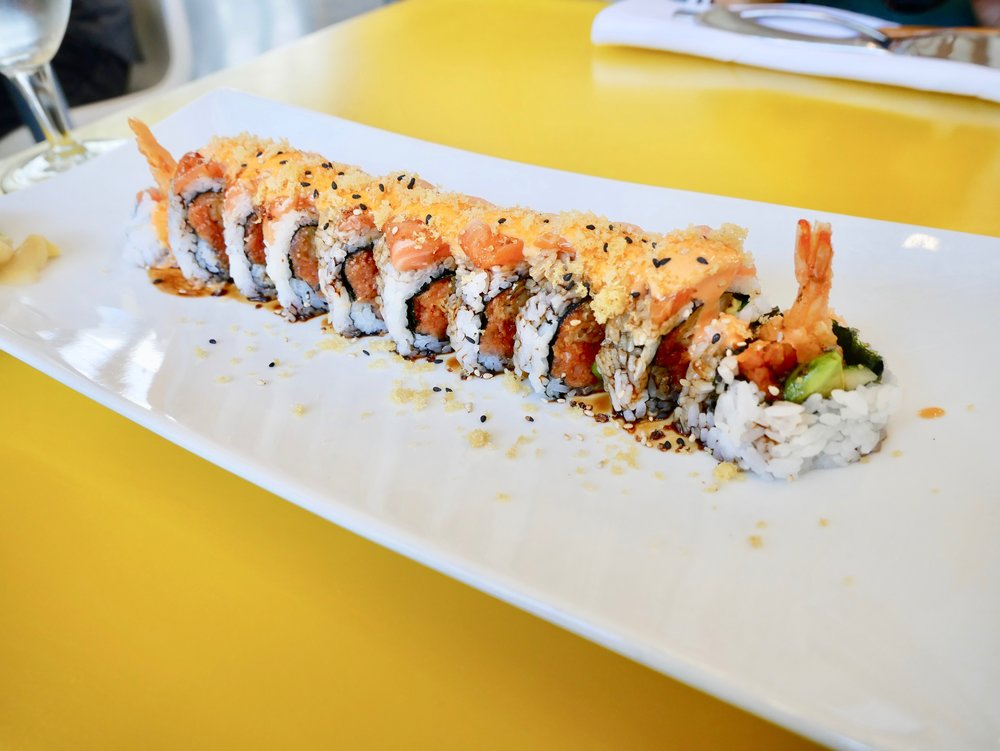 UCSD The Bistro Sun God roll