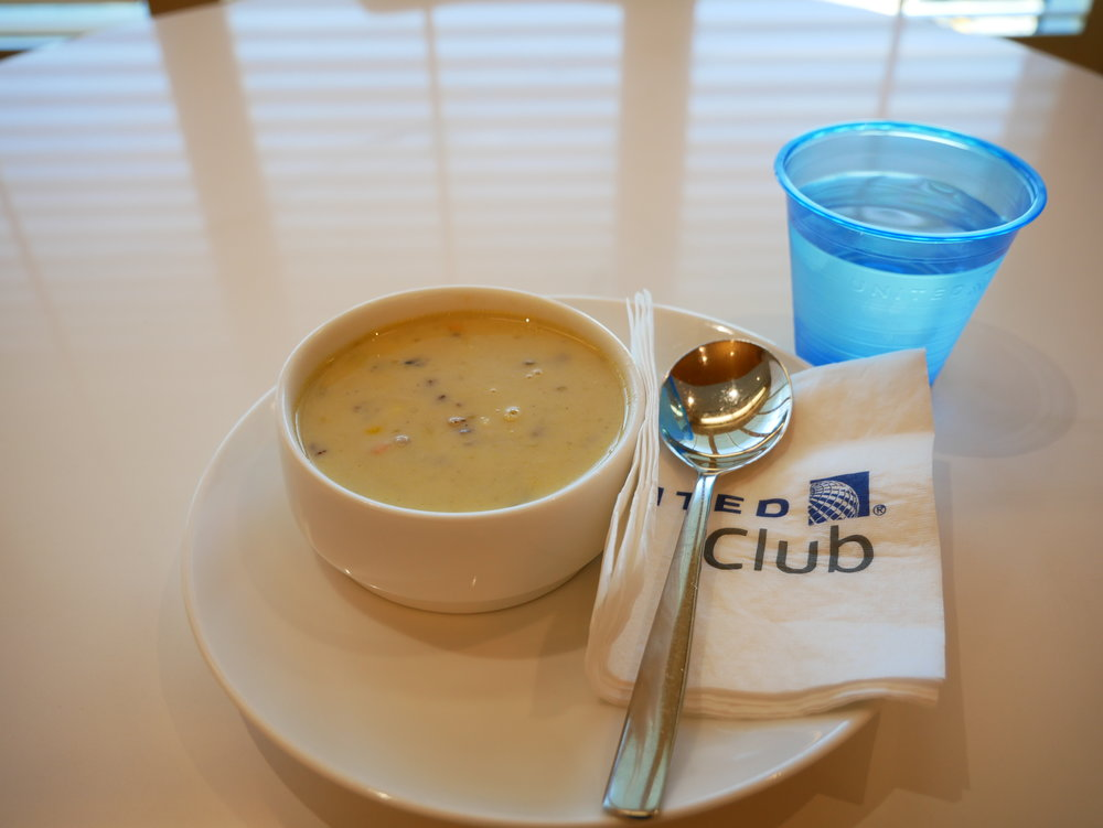 United Club chicken fiesta soup