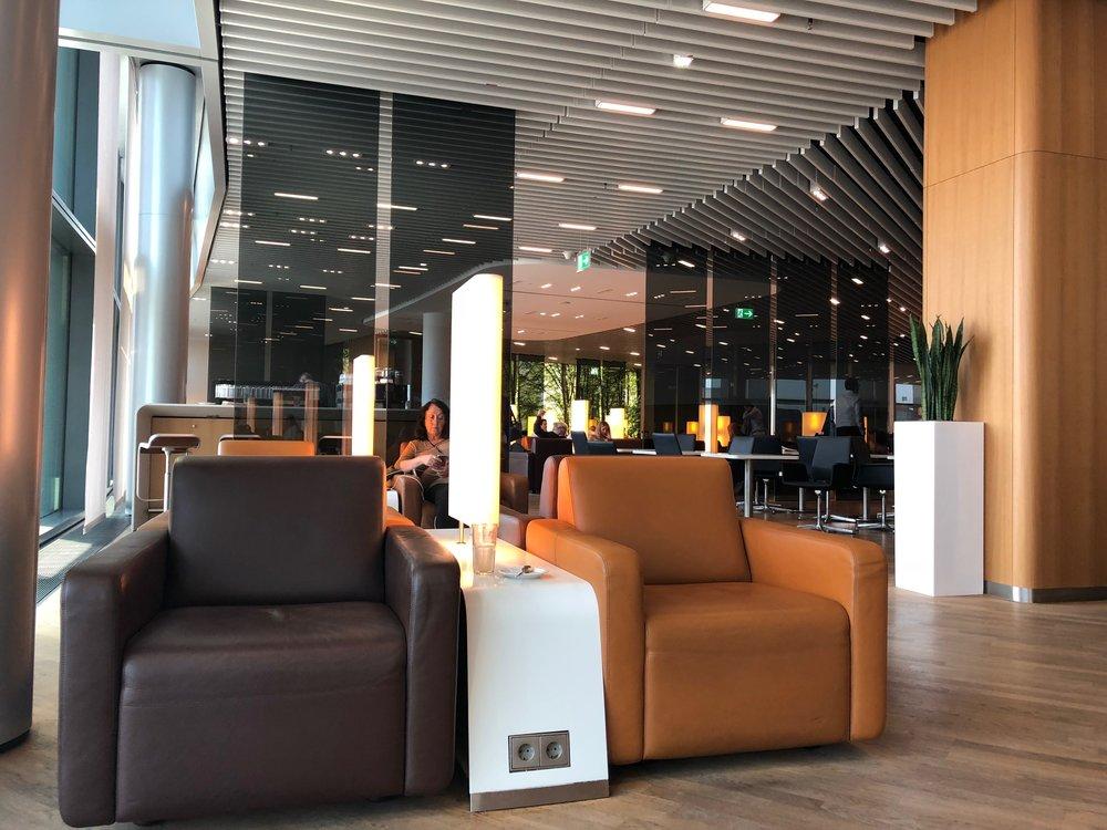 Lufthansa FRA Schengen Senator Lounge
