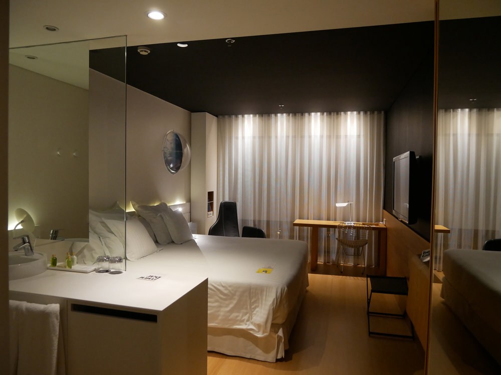 Barcelo Sants bedroom