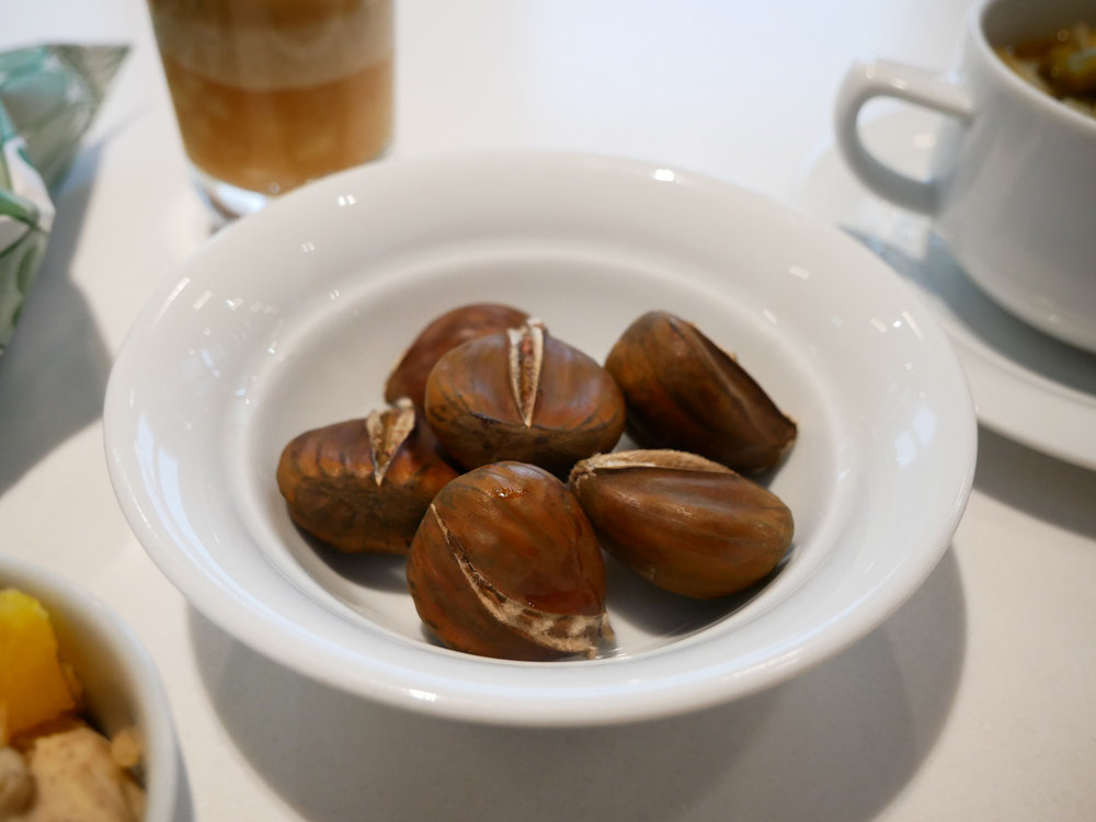 Senator lounge roasted chestnuts