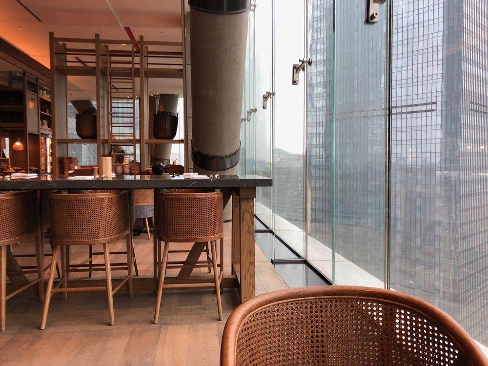 Xian Grand Hyatt breakfast restaurant.jpg