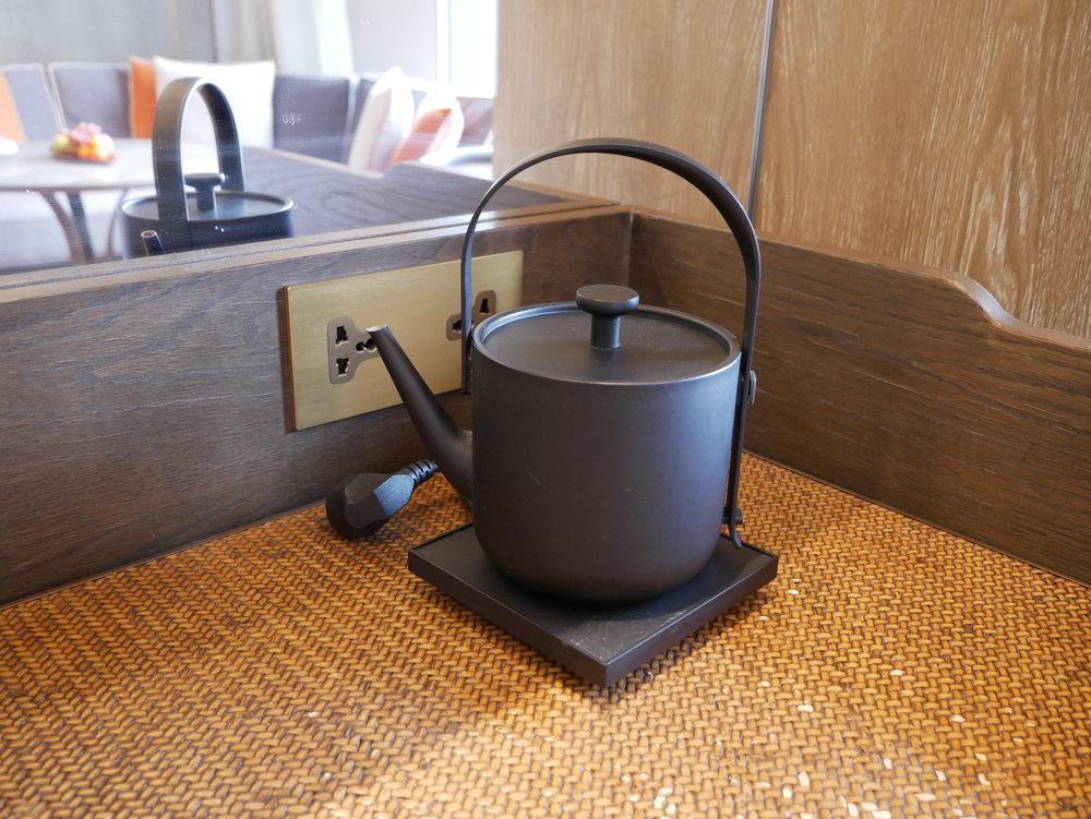 Xian Grand Hyatt in room kettle.jpg