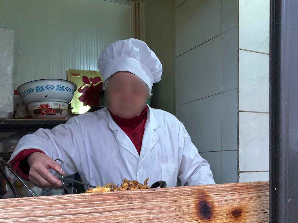 Daikon patty maker