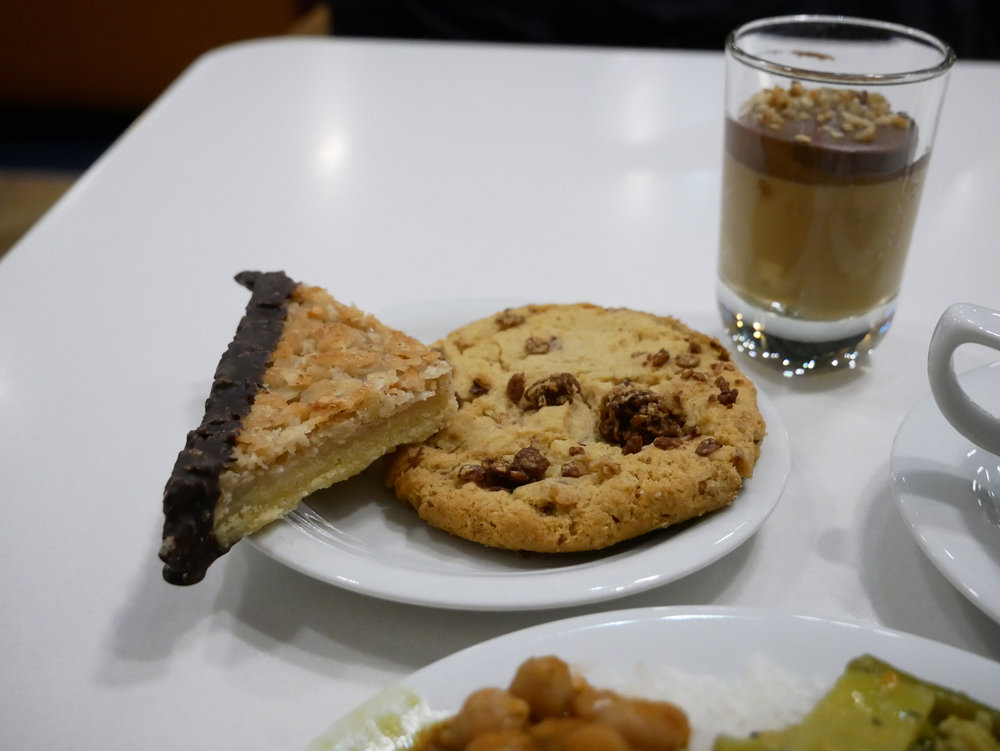 LH Senator Lounge almond pastry and cookie.jpg