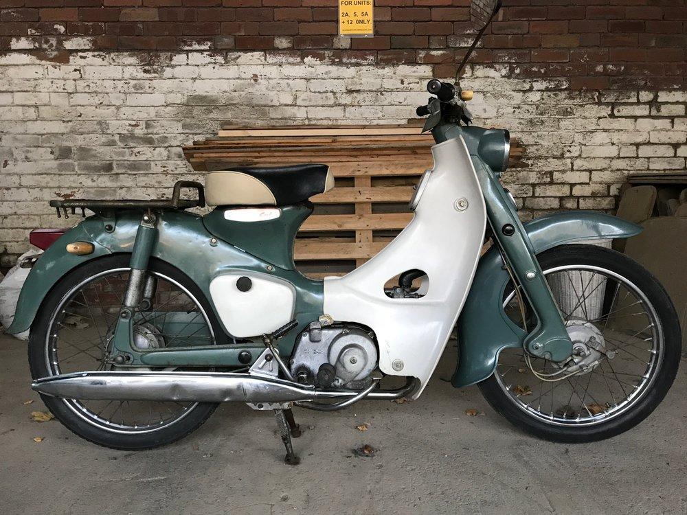 1963 Honda C100 Original Ref: 3578 £2450