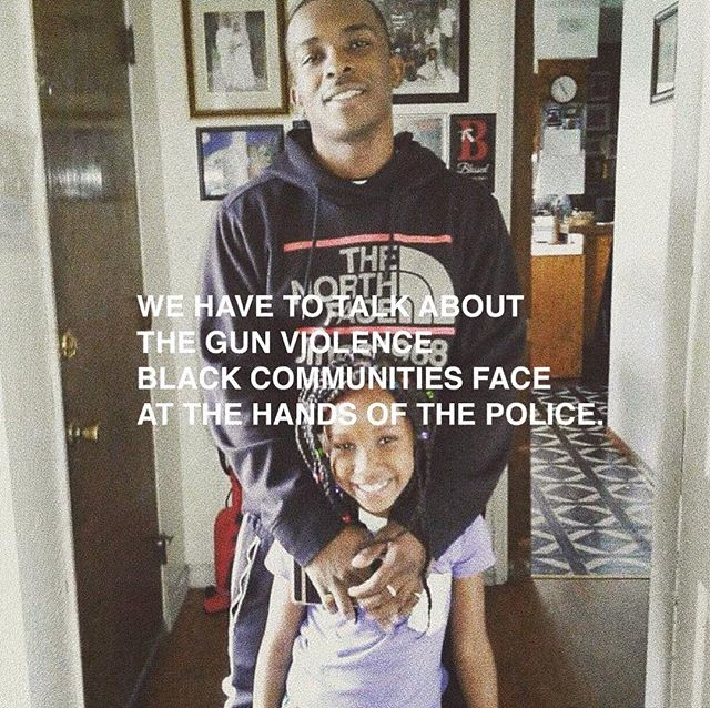His name was Stephon Clark. He was shot 20 times. He was holding a phone. He had two children.  black lives still matter. we should all be mad.