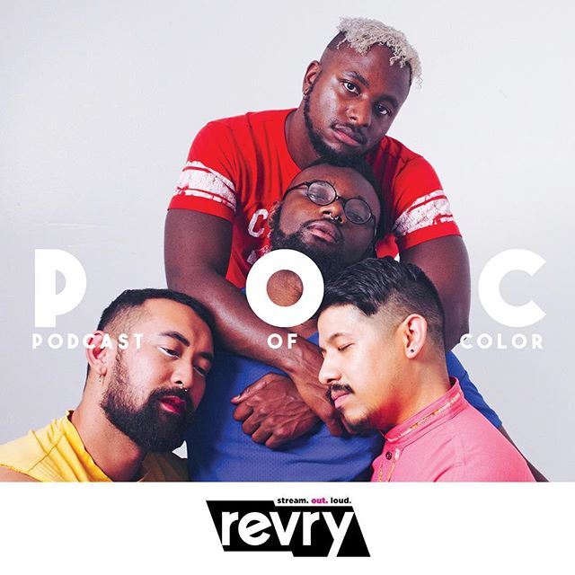 Congrats to our friends over at @podcastofcolor who were recently signed by @revrytv! Celebrate fifty episodes of amazing content and one year of podcasting with them by joining them as they answer questions from trashbags of color worldwide!  You can find them on Apple Podcasts, SoundCloud even YouTube!