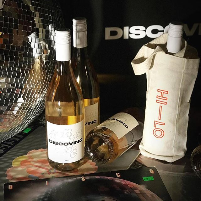 "We love our ""Donna Rose"" by @dissscovinnno ! If you're free tmrw night 5-8pm free tasting @hiloliquor in Culver City. Mystery vinyl gifts w/every purchase! 🎶🕺🏻"