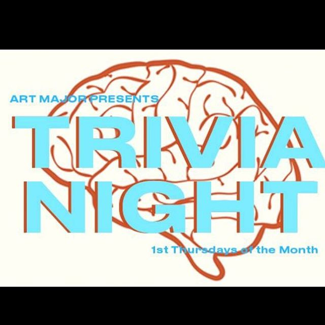 Trivia night is back on at Art Major!  join us this Thursday August 2nd, and every first Thursday of the month for some serious quizzing and challenges!  Trivia night is from 7-9pm, email b@artmajorla.com or call us at 213-221-4093 to book a table! #trivia #trivianight #bar #la #winebar