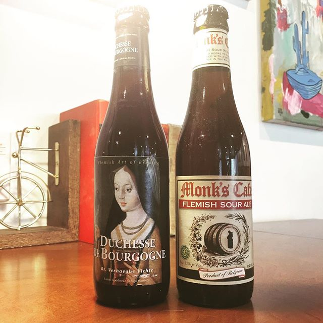 Bringing some new arrivals today, two amazing Flemish sour ales to round out our beer offerings.  These sweet yet sour brews are aged in casks to develop further integration and complexity.  A wonderful fun pair to try for a hot Friday in LA