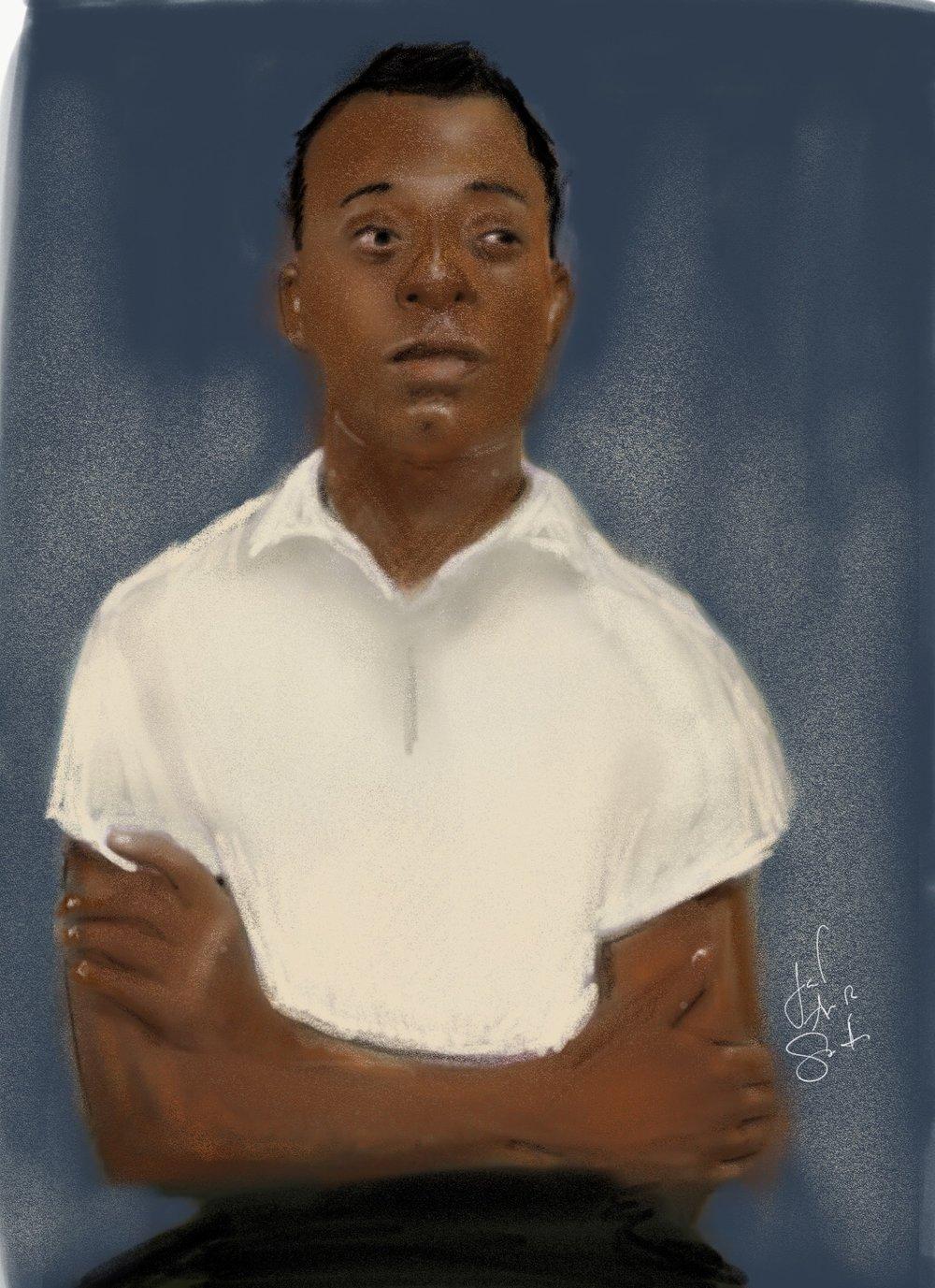 James Baldwin (Sketch)