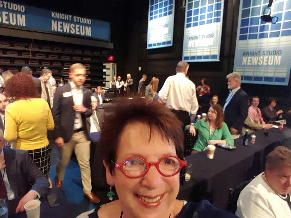 At the Newseum for Issues Briefing and Advocacy Training.