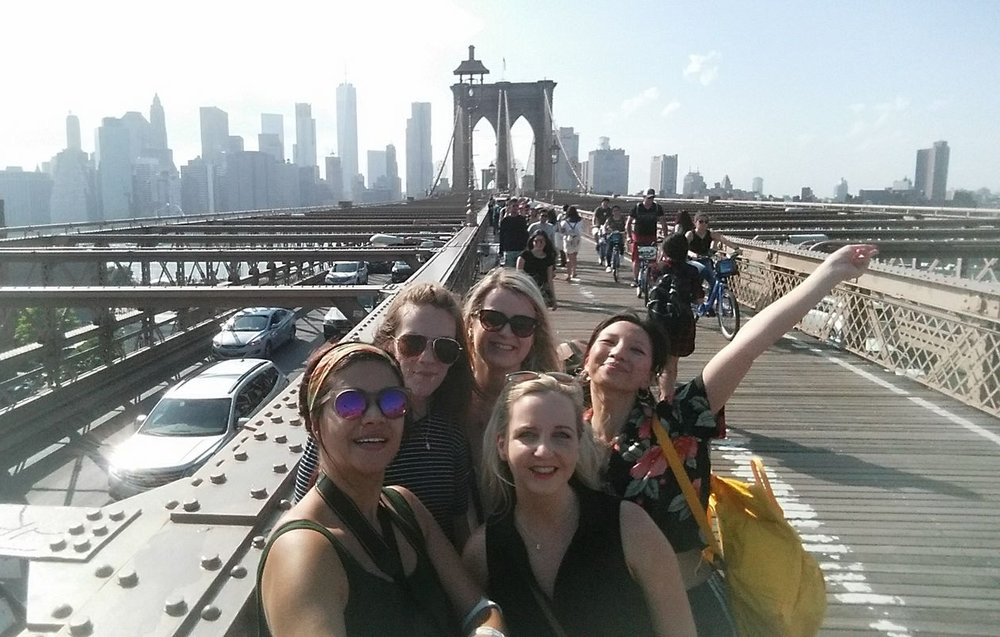 Brooklyn Bridge, New York, USA, 2017.