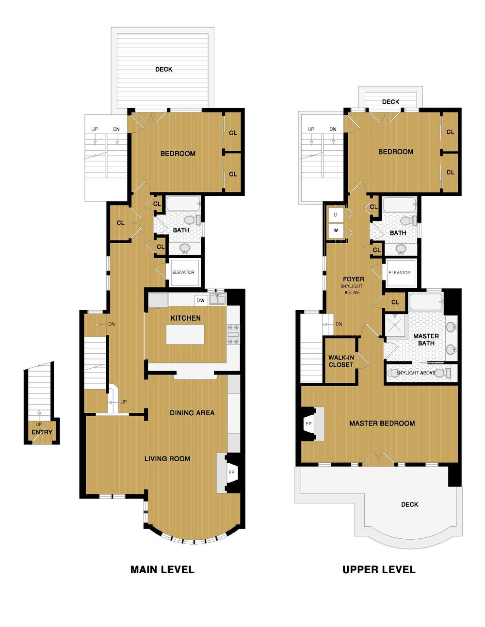 156 12th Ave Floor Plans