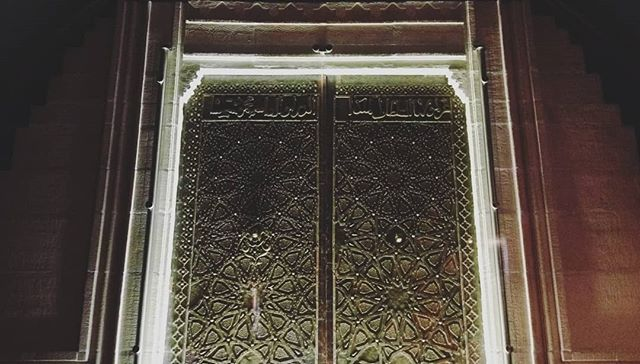 door to the grand mosque of cizre