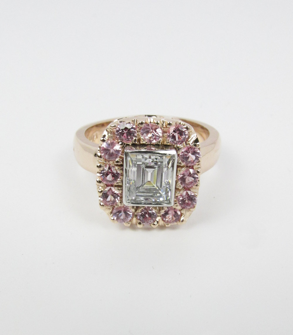 princess_diamond_ring_pink_sapphire_halo_redford_jewelers.jpg