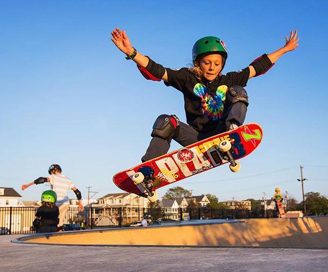 #oceancityskatepark #ocnj #oceancitynj #skateboarding 📷 @dinofa