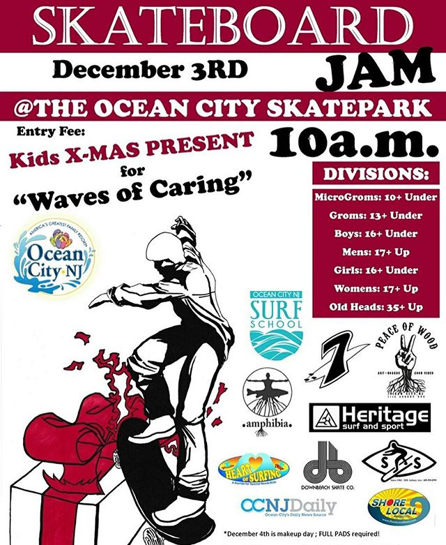 Sign-Ups are 10am  Contest starts at 11am This Sat. Dec 3rd You can skate any part of the park you want during your run.
