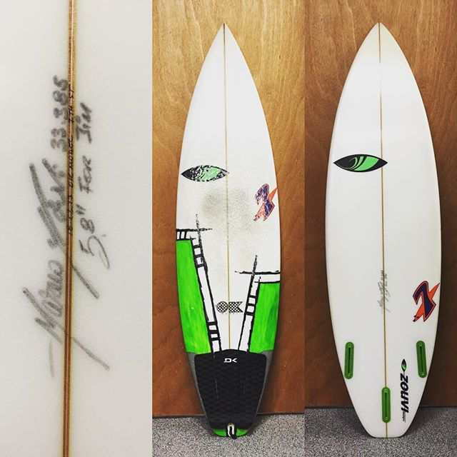 5'8 @sharpeyesurfboards ok model $250