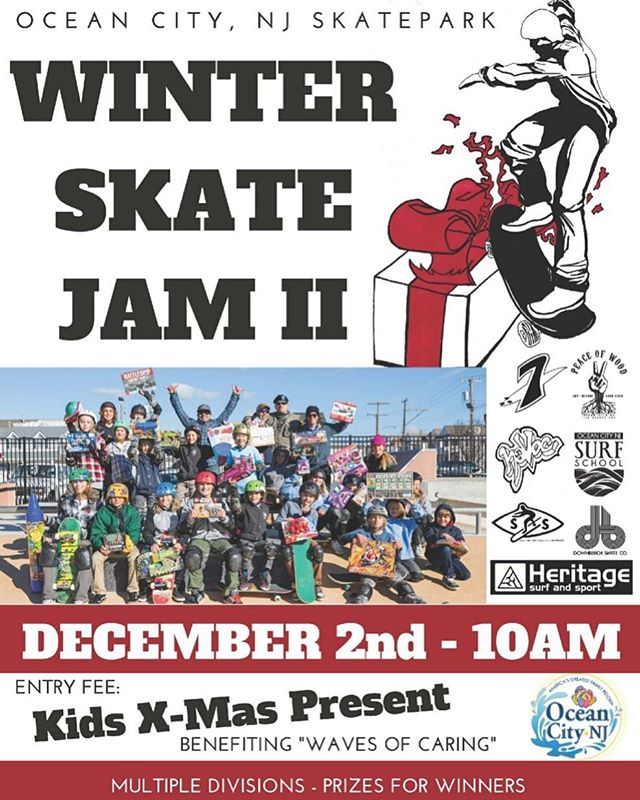 Are you ready for the Winter Skate Jam II ?  Come out and skate for a great cause.