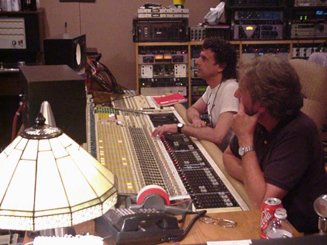 Messina and Rick Davies from Supertramp
