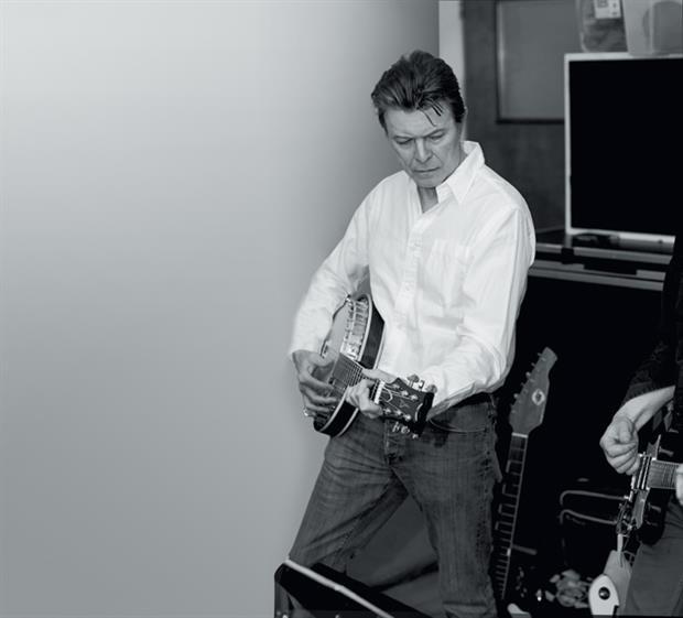 David Bowie Recording at The Magic Shop