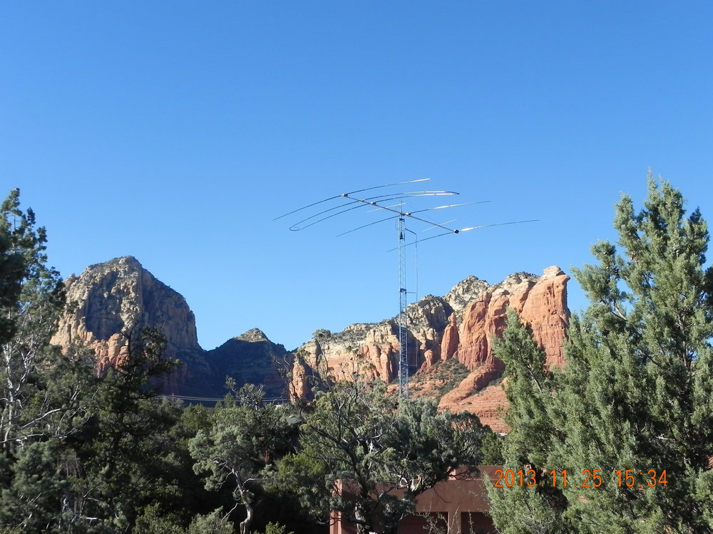 HAM Radio Tower in Sedona