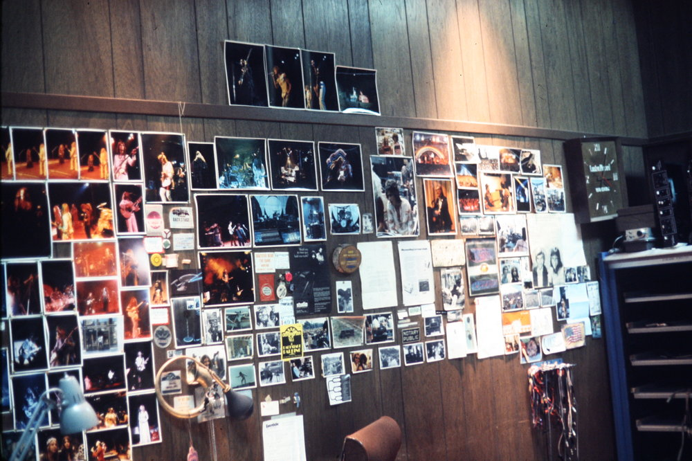Richard's Office Wall