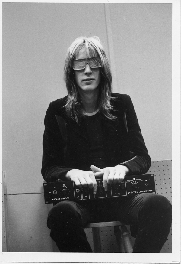 Todd Rundgren with the Instant Phaser