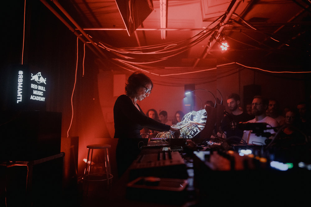 Suzanne Ciani at the Red Bull Music Academy