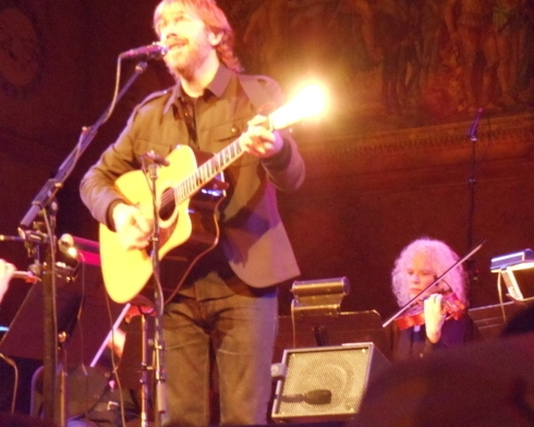 In concert with Trey Anastasio