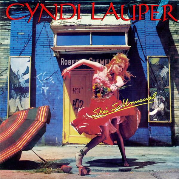 Cyndi Lauper's She's So Unsual