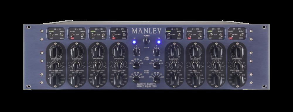 Manley Massive Passive Stereo Tube EQ