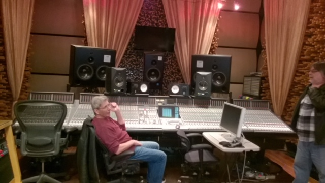 Rod at Blackbird Studios in Nashville