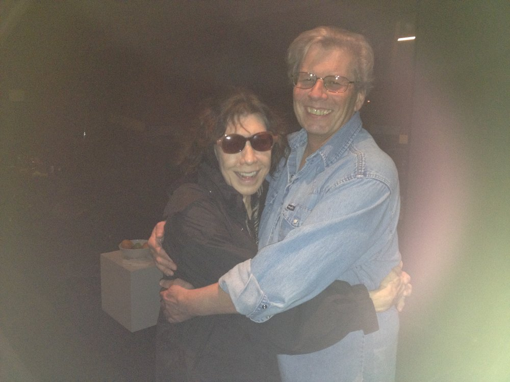 "Rod with ""Grace and Frankie"" star, Lily Tomlin"