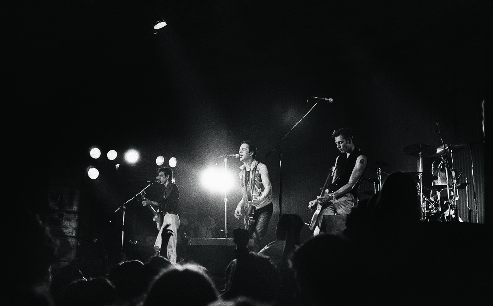The Clash Live at Bonds 1981