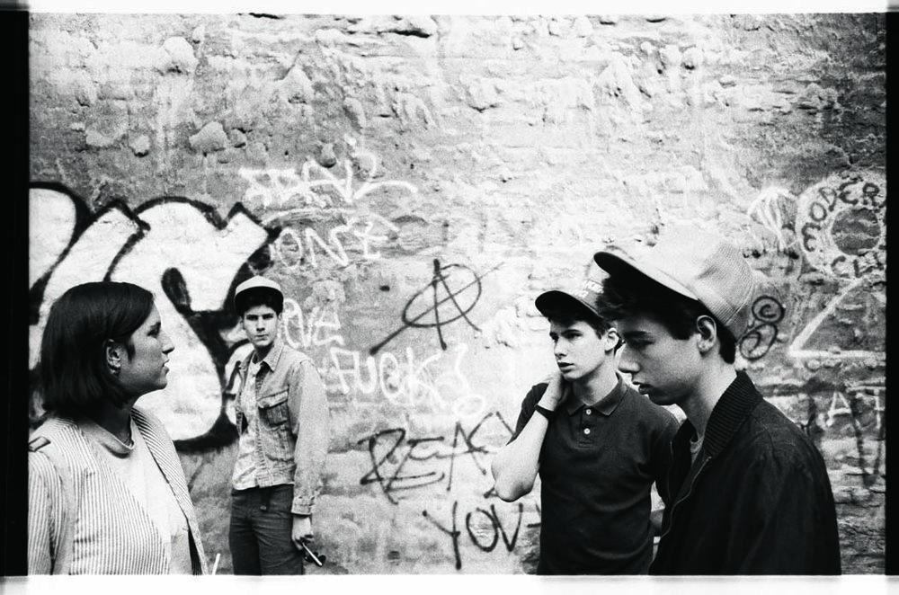 Beastie Boys w drummer Kate Schellenbach 1983