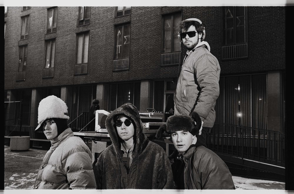 Beastie Boys at Weinstein Dorms NYU 1984