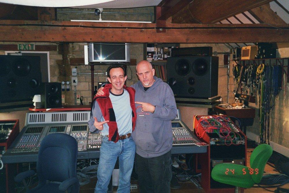 Peter Gabriel & Kevin at Real World