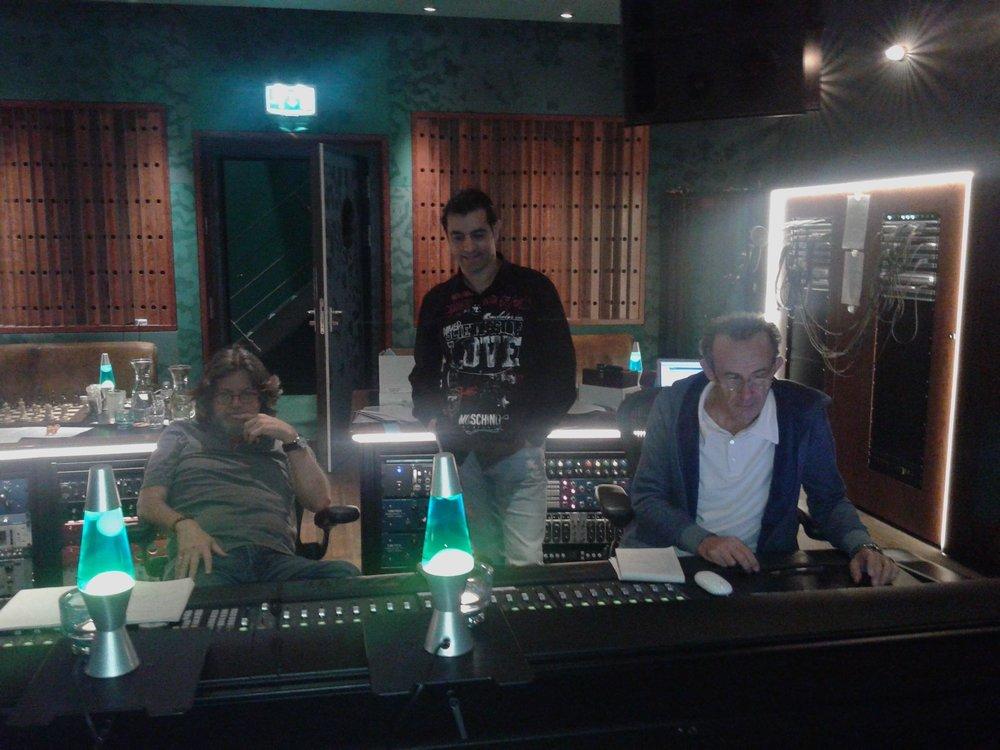 Pat Leonard, Rony Barrak and Kevin