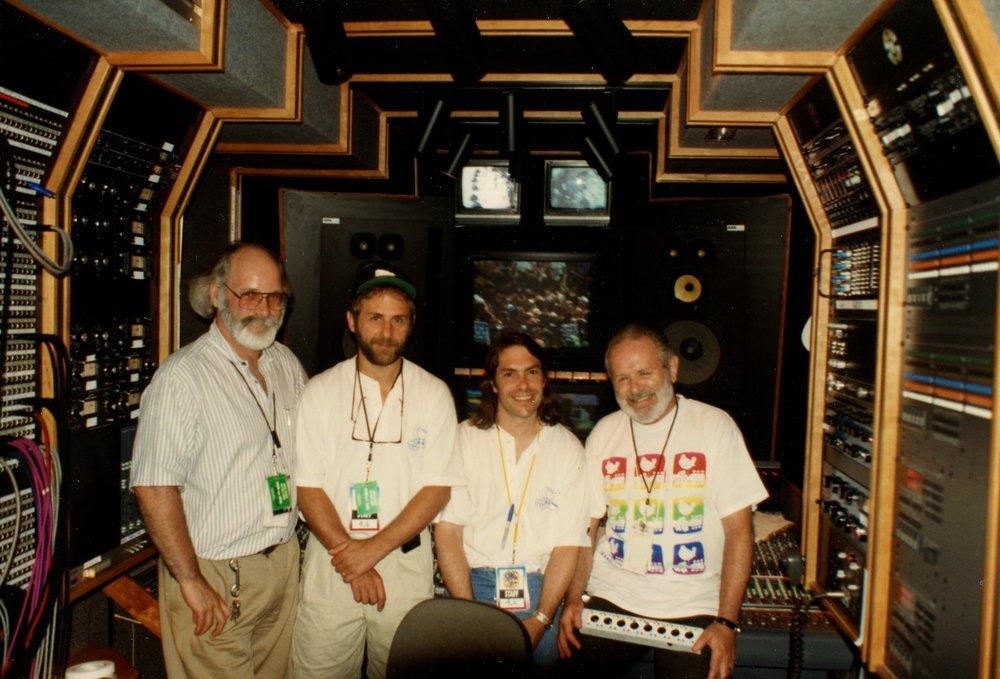 Woodstock 94 David Hewitt, Elliot Scheiner, Mitch Maketanski, Chris Stone R.I.P.