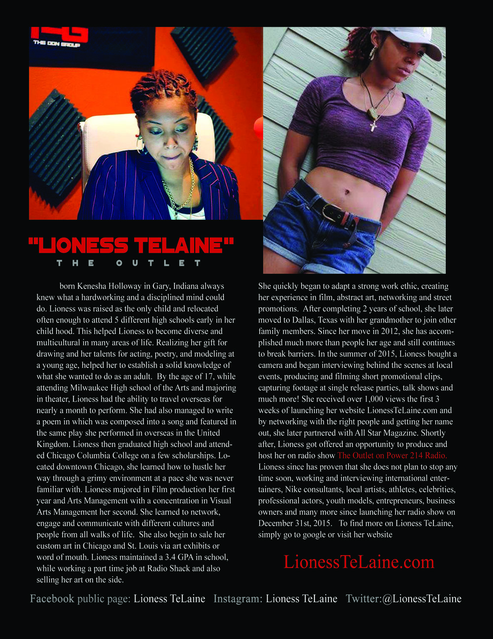 Lioness TeLaine