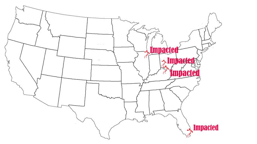 Life Game has made an impact in Chicago, Miami, Dayton, Orlando and Cincinnati!