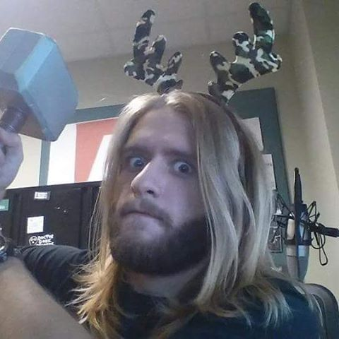 #tbt to when #Thor was a guest DJ for us