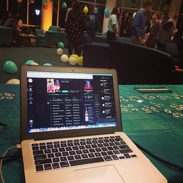 DJing Reel Teal film festival