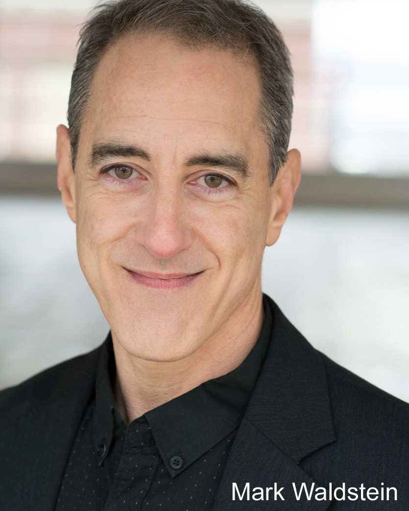 Mark Waldstein - Mark Waldstein has performed with Sound Theatre Company, Annex, Book-It, Theater Schmeater, ReAct Theatre, Centerstage, Parley, Seattle Musical Theatre, and the 14/48 Festival. He was also a founding member of Redmond's SecondStory Repertory. On film, he can be seen as the host of The Nightmare Emporium at Central Cinema this Halloween!