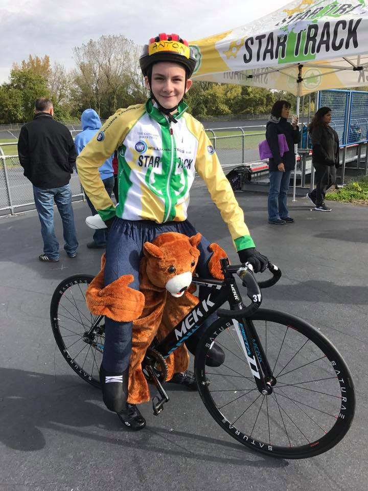 best costume award star track youth cycling