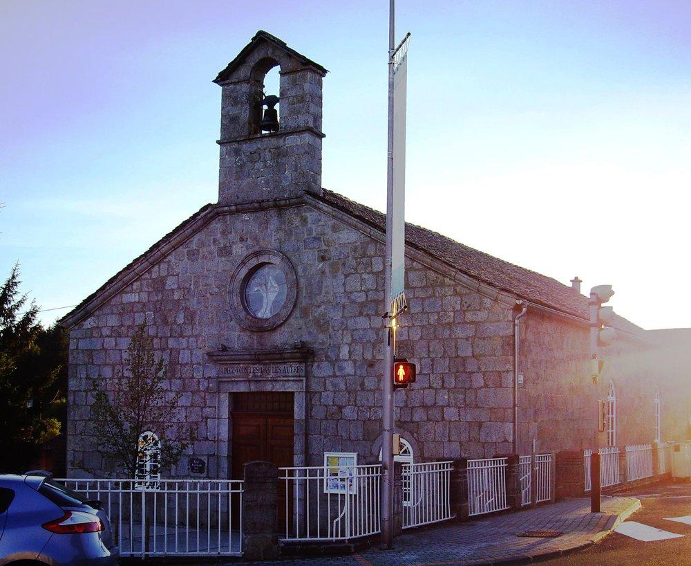 Trocmé's Protestant temple